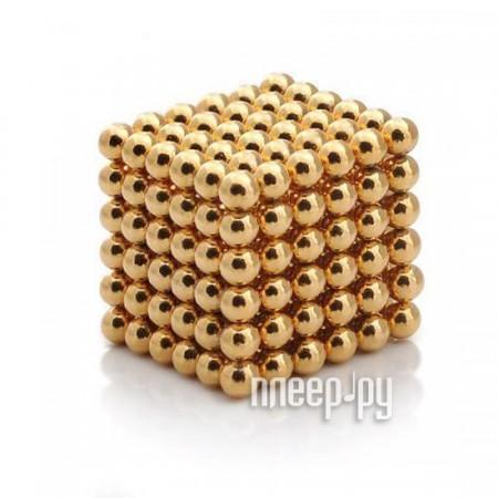Магниты NeoCube Альфа 216 5mm Gold  Pleer.ru  658.000