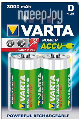 Аккумулятор D - Varta 3000mAh Power Accu (2 штуки) 56720  Pleer.ru  549.000
