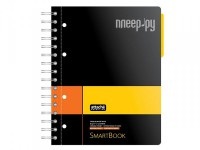 Бизнес-тетрадь Attache Selection Smartbook A5 120 листов Yellow-Orange 272648