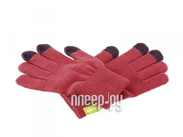 Теплые перчатки для сенсорных дисплеев Wexler Touchscreen Gloves S Red