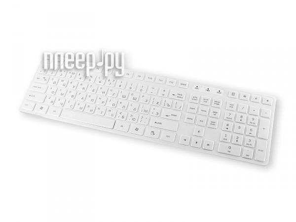 Клавиатура Intro KU102S Slim White  Pleer.ru  323.000