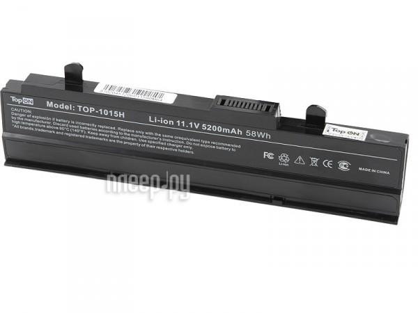 Аккумулятор TopON TOP-1015H-bp 4400mAh / 5200mAh for ASUS 1015PE / 1015PED / 1015PN / 1015PW / 1015T / 1015B / 1016 / 1215N / 1215P / 1215T / VX6  Pleer.ru  1991.000