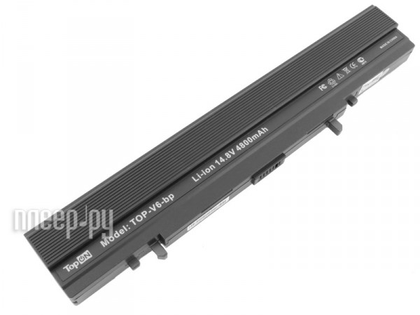 Аккумулятор TopON TOP-V6 4800mAh for ASUS V6V / V6000VA / V6800V / VX1 Series  Pleer.ru  2249.000