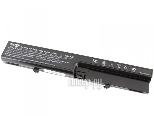 Аккумулятор TopON TOP-6520 5200mAh for HP Compaq 540 / 541 / 6520s / 6530s / 6531s / 6535s