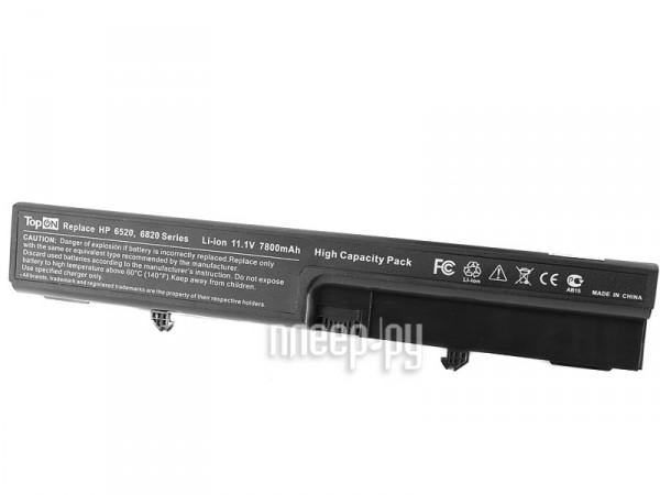 Аккумулятор TopON TOP-6520H 7800mAh – усиленный! for HP Compaq 540 / 541 / 6520s / 6530s / 6531s / 6535s  Pleer.ru  1750.000