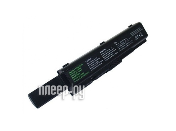 Аккумулятор TopON TOP-PA3534H / PA3535U-1BRS 6600mAh – усиленный! for Toshiba Satellite A200 / A210 / A300 / A500 / L200 / L300 / L500 / L550 / M200  Pleer.ru  2149.000