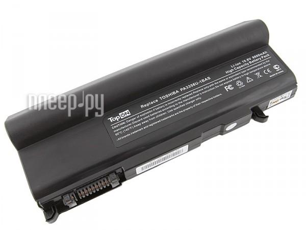 Аккумулятор TopON TOP-PA3356HH / PA3357U-1BRL 8800mAh – усиленный! for Toshiba Satellite T20 / A50 / U200 / Tecra S5 / M5 / M10 / A10 / Portege M500 / Qosmio F20  Pleer.ru  1800.000