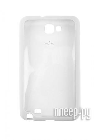 Аксессуар Чехол Samsung Galaxy Note PURO Clear Cover  Pleer.ru  510.000