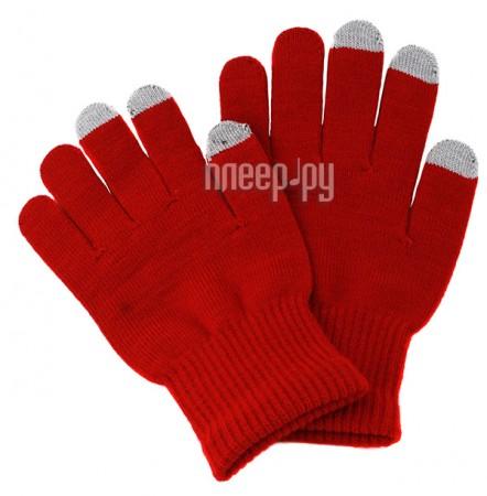 Теплые перчатки для сенсорных дисплеев iGlover Classic Red