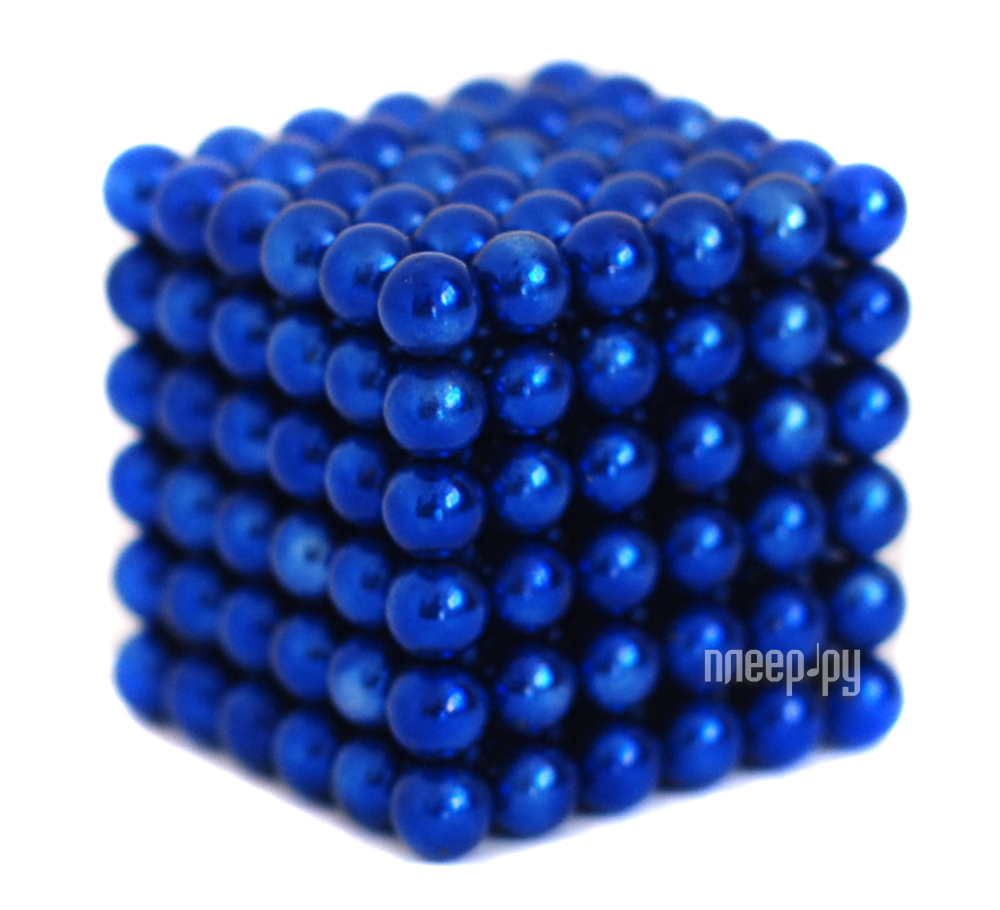 Магниты NeoCube Альфа 216 5mm Blue  Pleer.ru  658.000