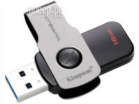 USB Flash Drive 16Gb - Kingston DataTraveler Swivl USB 3.0 Metal DTSWIVL/16GB