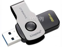 USB Flash Drive 32Gb - Kingston DataTraveler Swivl USB 3.0 Metal DTSWIVL/32GB