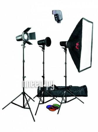Комплект студийного света Falcon Eyes SSK 2-150/1-200F PRO  Pleer.ru  16079.000