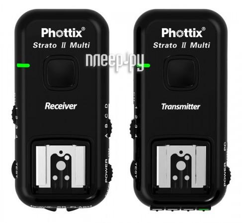 Радиосинхронизатор Phottix Strato II 5-in-1 Wireless Trigger для Canon 15651 с