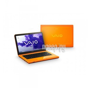 ������� Sony Vaio VPC-CA4S1R/D Orange (Core i3-2350M 2.3 Ghz/4096Mb/640Gb/DVD-RW/AMD Radeon HD6630M 1024Mb/Wi-Fi/Bluetooth/Cam/14/1366x768/Win 7 Home Premium 64bit)