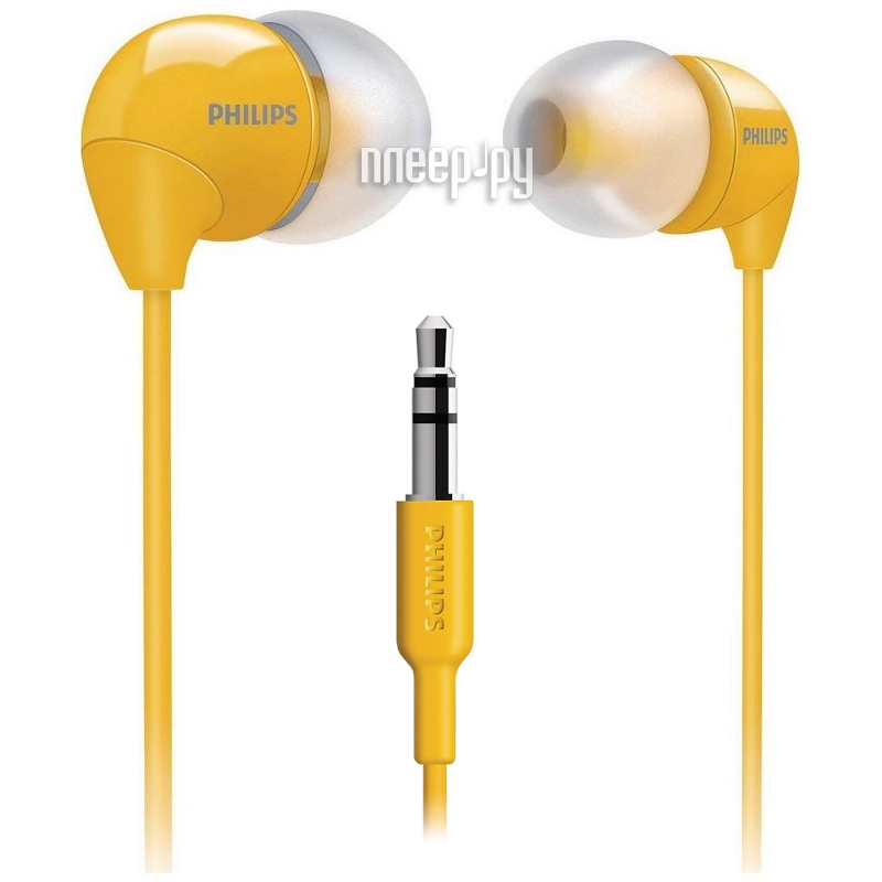 Наушники Philips SHE3590 Yellow  Pleer.ru  268.000