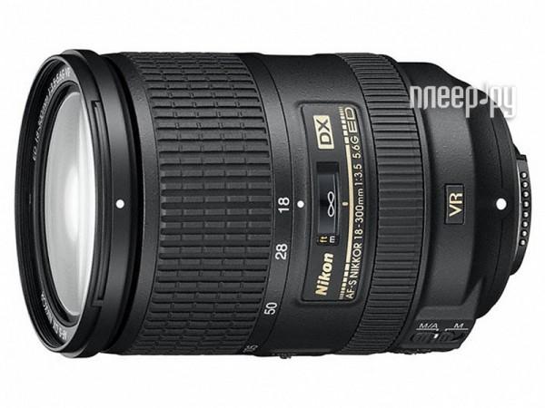 Объектив Nikon Nikkor AF-S 18-300 mm F / 3.5-5.6 G ED DX VR купить