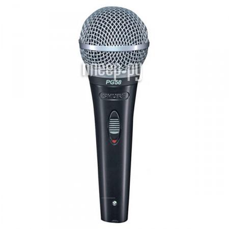Микрофон SHURE PG58-QTR  Pleer.ru  2173.000