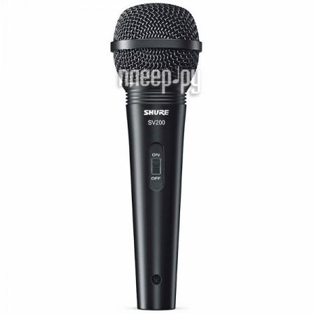 Микрофон SHURE SV200-A  Pleer.ru  1438.000