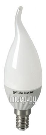 Лампочка Gauss 3W E14 220V 4100K EB104301203  Pleer.ru  284.000