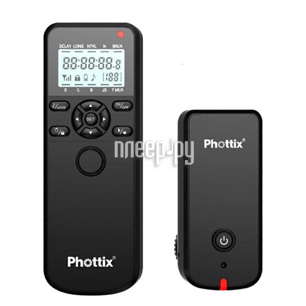 Пульт ДУ Phottix Aion Wireless Timer and Shutter 16375 - пульт дистанционного управления с таймером  Pleer.ru  2898.000
