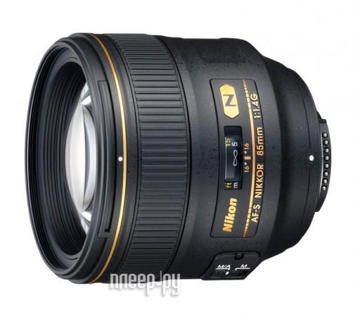 Объектив Nikon Nikkor AF-S 85 mm F / 1.4 G