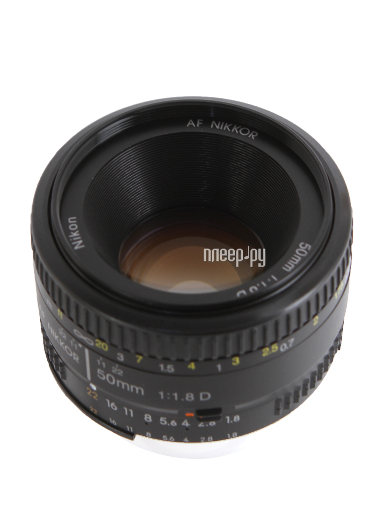 Объектив Nikon Nikkor AF 50 mm F / 1.8 D купить