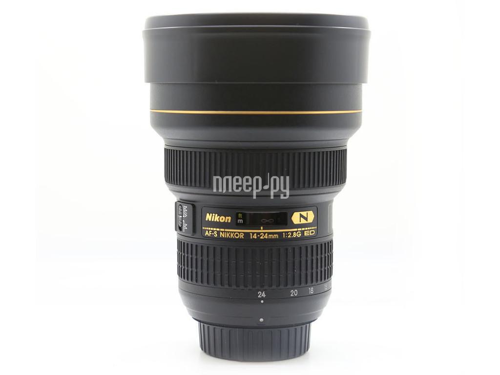 Объектив Nikon 14-24mm f / 2.8G ED AF-S Nikkor купить