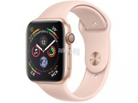 Умные часы APPLE Watch Series 4 40mm Gold Aluminium Case with Pink Sand Sport Band MU682RU/A