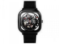 Часы наручные аналоговые Xiaomi Ciga Design Anti-Seismic Mechanical Watch Wristwatch Black