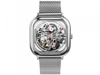 Часы наручные аналоговые Xiaomi Ciga Design Anti-Seismic Mechanical Watch Wristwatch Silver