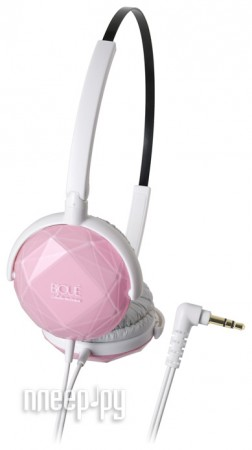 Наушники Audio-Technica ATH-FW33 LPK Light Pink  Pleer.ru  859.000