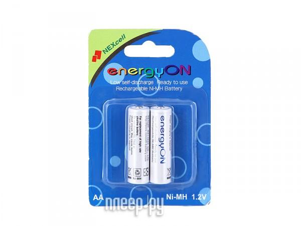 Аккумулятор AA - NEXcell 2000 mAh Ni-MH (2 штуки) AA2000/2pack - энергосберегающие!  Pleer.ru  423.000