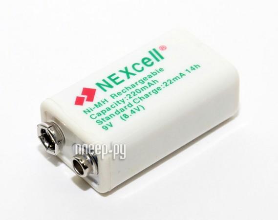 Аккумулятор КРОНА NEXcell 9V 200/220 mAh Ni-MH  Pleer.ru  427.000