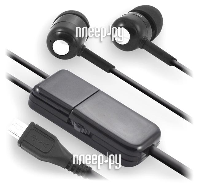 Аксессуар Гарнитура Nokia 6500 / 8800 / 6600 / 6700 microUSB Vertex HS-82 Black  Pleer.ru  396.000