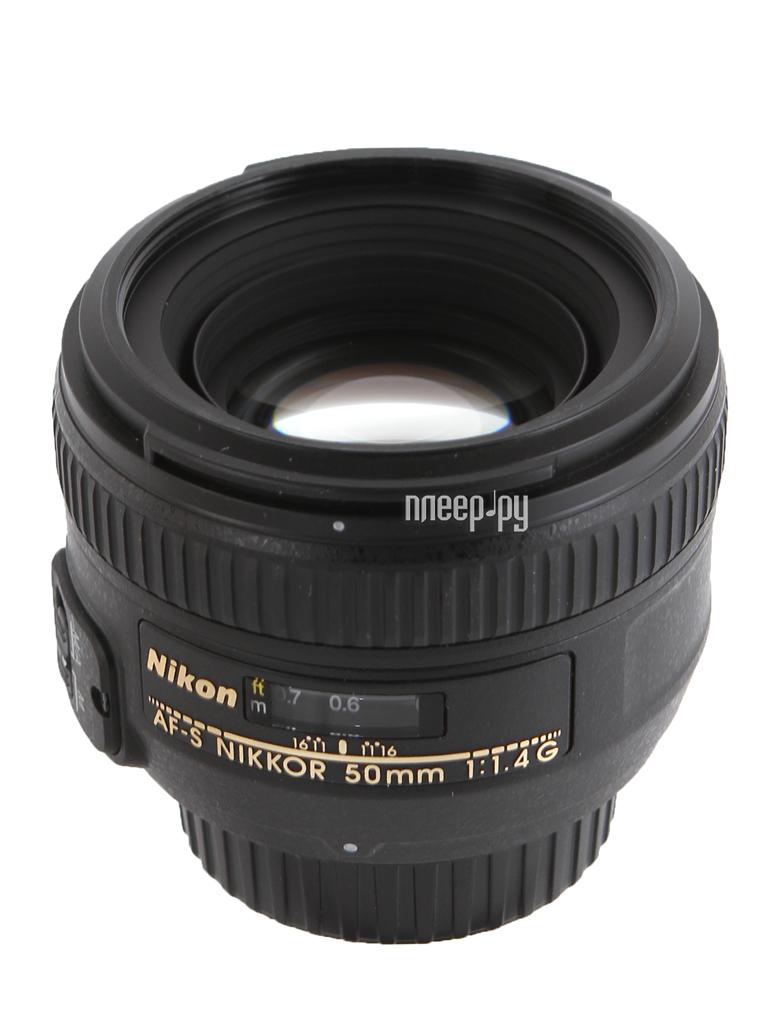 Объектив Nikon Nikkor AF-S 50 mm F / 1.4 G купить