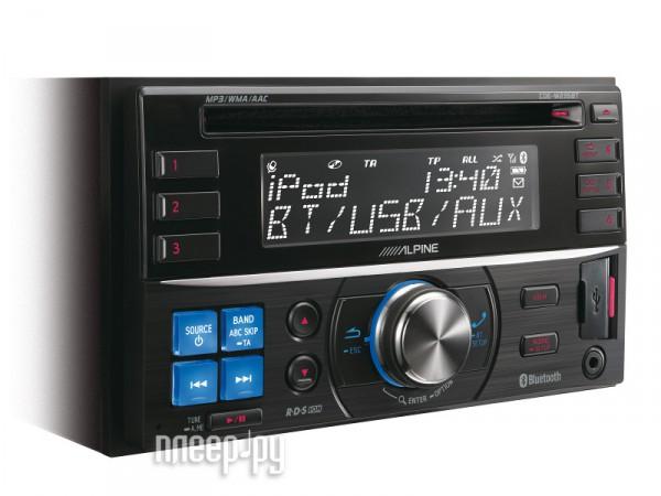 Автомагнитола Alpine CDE-W235BT  Pleer.ru  7109.000