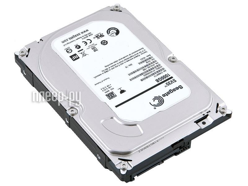 Жесткий диск 1Tb - Seagate ST1000VX000 SV35  Pleer.ru  2391.000