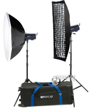 Комплект студийного света Raylab Sprint II RTD-300 SO Kit  Pleer.ru  28718.000