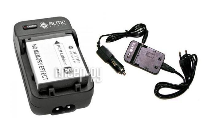 Зарядное устройство AcmePower AP CH-P1640 for Panasonic VW-VBK180 / VBK360 (Авто+сетевой)  Pleer.ru  289.000