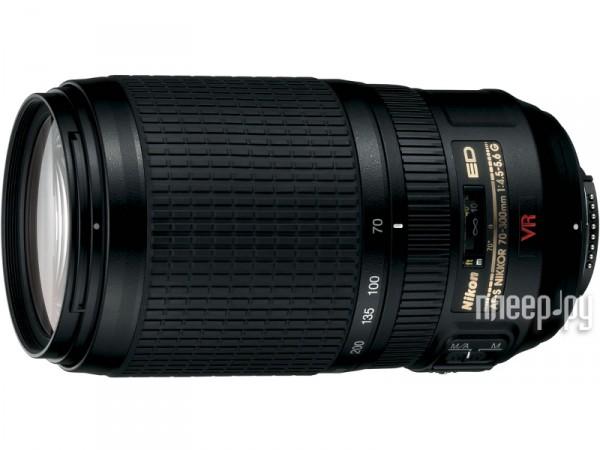 Объектив Nikon Nikkor AF-S 70-300 mm F/4.5-5.6 G IF-ED VR  Pleer.ru  16857.000