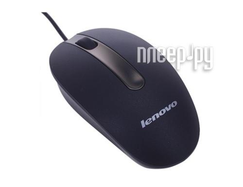 Мышь Lenovo Optical Mouse M3803A WW-UVB Ultraviolet Black 888012601