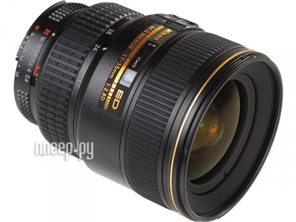 Объектив Nikon Nikkor AF-S 17-35 mm f / 2.8 D IF-ED