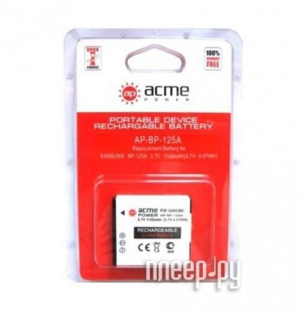 Аккумулятор AcmePower AP BP-125A  Pleer.ru  220.000