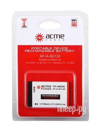 Аккумулятор AcmePower AP IA-BH130  Pleer.ru  289.000