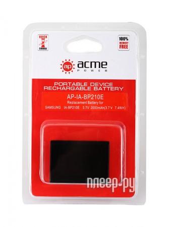 Аксессуар AcmePower AP IA-BP210E  Pleer.ru  769.000