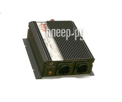 Автоинвертор AcmePower AP-DS1200/12 (1200Вт) преобразователь с 12В на 220В