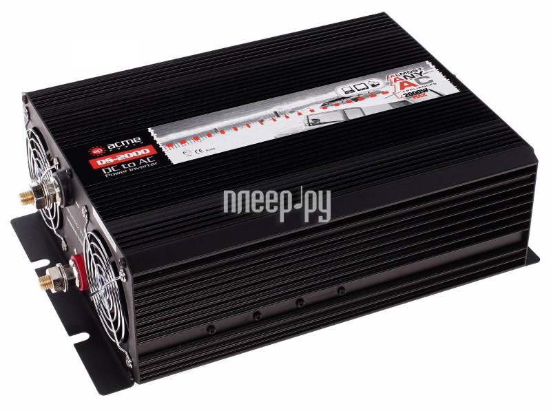 Автоинвертор AcmePower AP-DS2000/12 (2000Вт)  Pleer.ru  8236.000