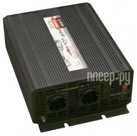 Автоинвертор AcmePower AP-DS2000/12 (2000Вт) преобразователь с 12В на 220В