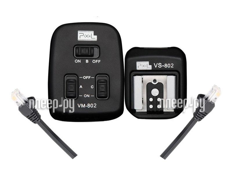 Аксессуар Pixel PF-802 4.0m Combined Type TTL Cable for Nikon  Pleer.ru  2287.000